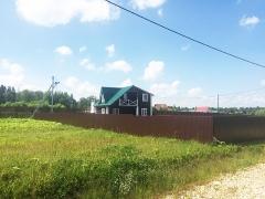 Март 2013г. Строительство очередного дома в Посёлке Вишневый Сад
