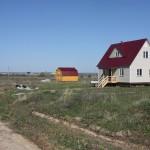 Первые два дома в Поселке Морозово