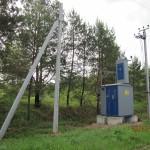Подведено электричество 15 кВт - до границы первого участка