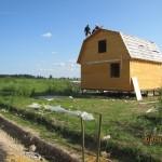 Строительство первых домов в Поселке Старое село
