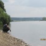Август 2013г. Река Ока - в 2,5 км от Поселка