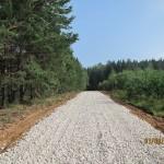 Август 2013г. Строительство дорог в Поселке