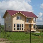 Июль 2013г. Строительство домов в Поселке
