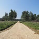 Август 2013г. Дороги в Поселке Озеро жемчужин